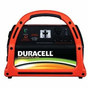Duracell DRPP600 Powerpack 600 Jump Starter and Emergency Power Source