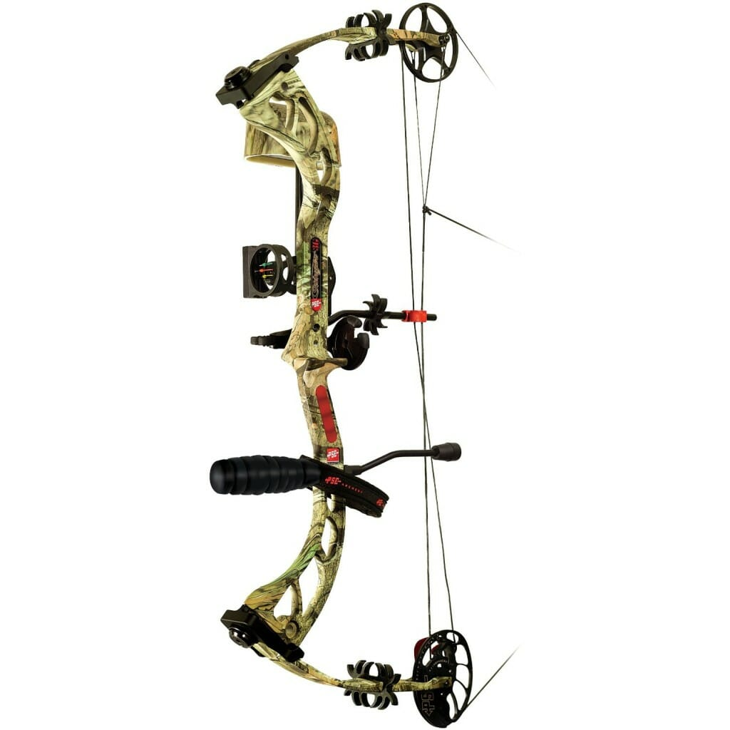 PSE Stinger 3G RTS Package Right Hand Bow, 50-Pound, Mossy Oak Break Up Infinity
