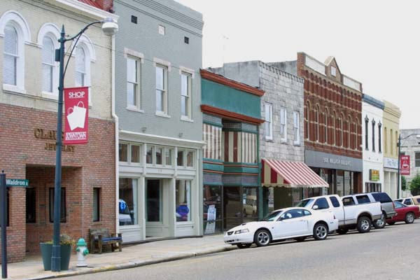 Corinth MIssissippi Best Small Town Downtown