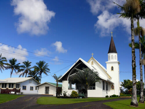 Pahoa Hawaii Best Small Town Downtown