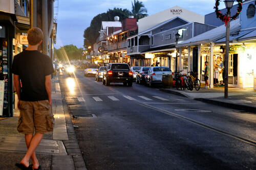 Lahaina Hawaii Best Small Town Downtown