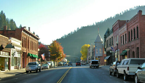 Wallace Idaho Best Small Town Downtown